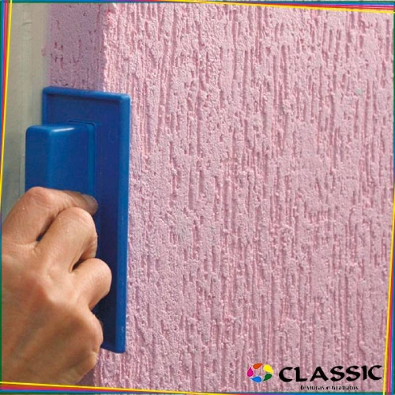 Textura em Grafiato Valor Conjunto Habitacional Padre Manoel da Nóbrega - Grafiato para Sala